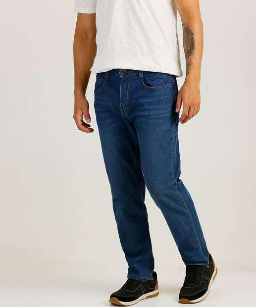 Image_Calça Masculina Jeans Reta