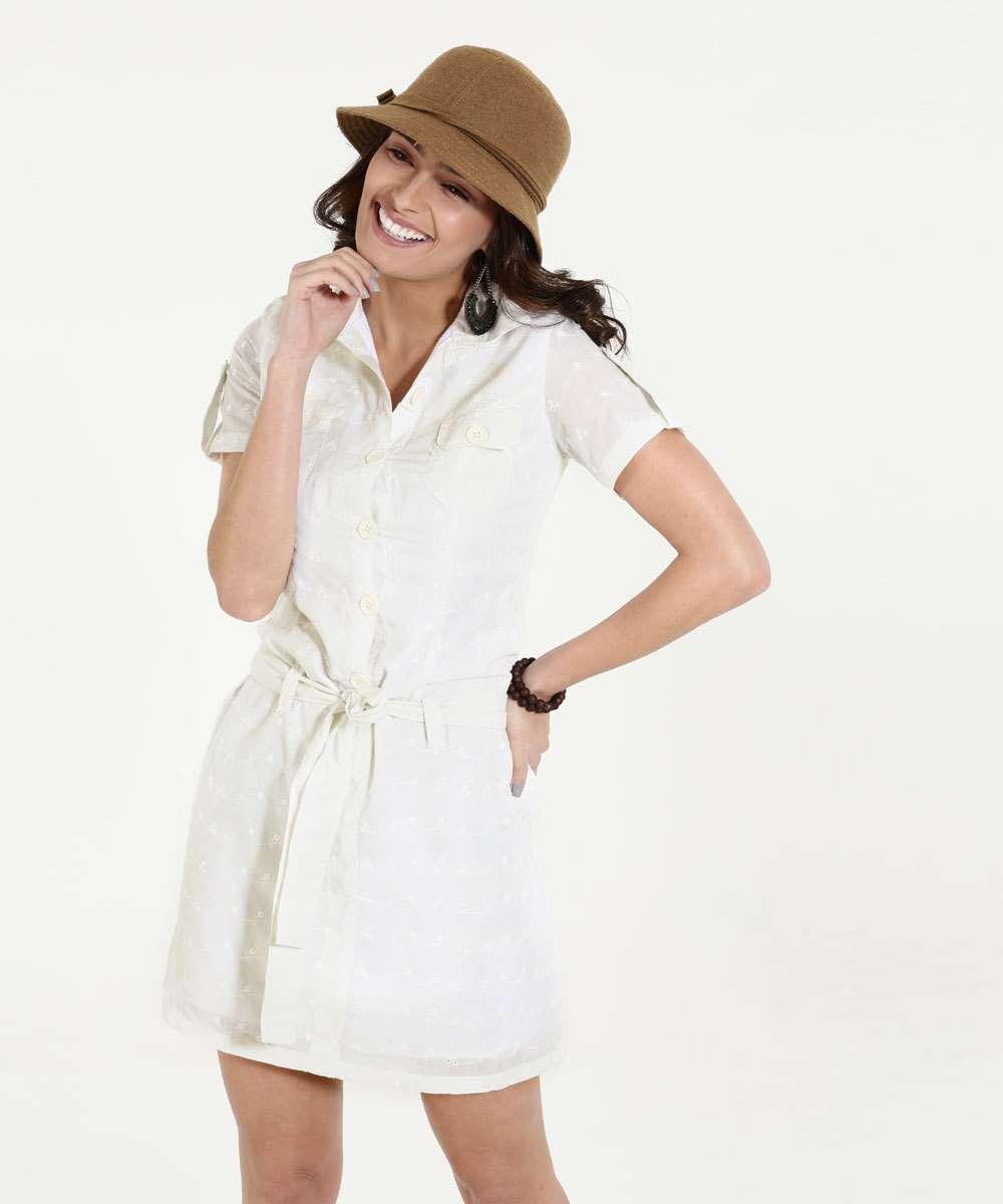 def688fe6c Menor preço em Vestido Feminino Curto Laise Flores Marisa