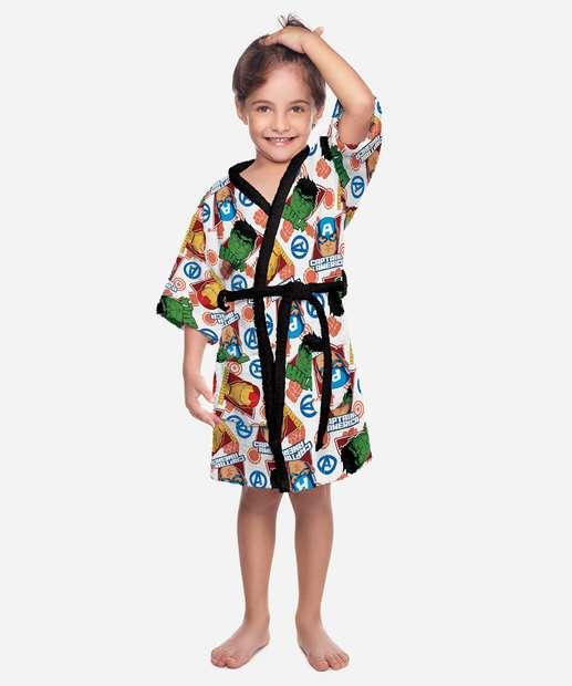 Image_Roupão Infantil Estampa Avengers Lepper