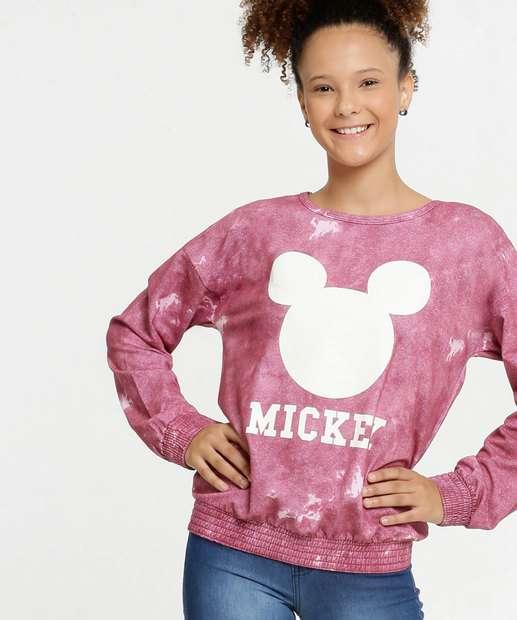 Image_Blusão Juvenil Moletinho Estampa Mickey Disney