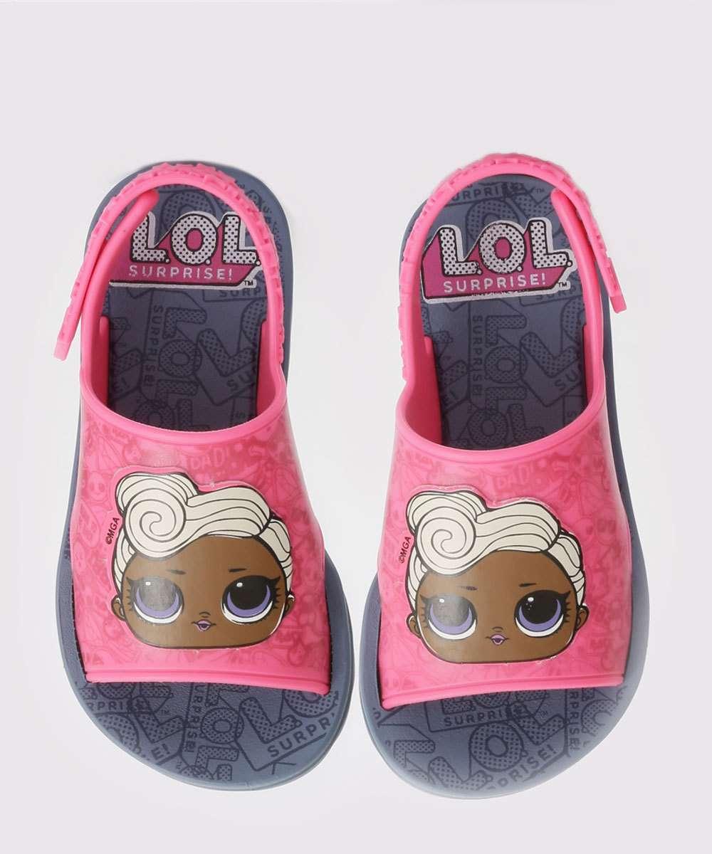 Sandália Infantil Lol Hit Collection Grendene Kids