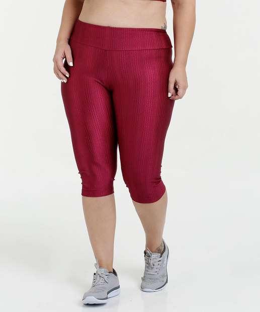 Image_Calça Feminina Corsário Fitness Plus Size Marisa