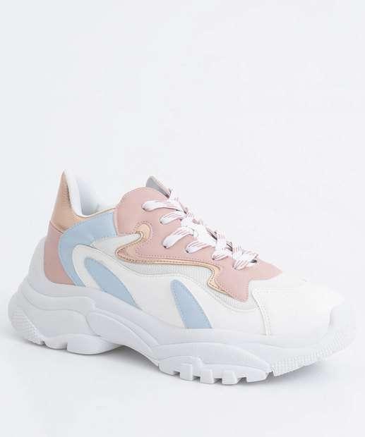 Image_Tênis Feminino Chunky Sneaker Recortes Zatz