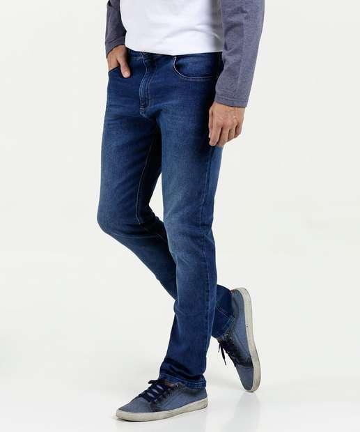 44725695a063e Calça Masculina Jeans Slim MR