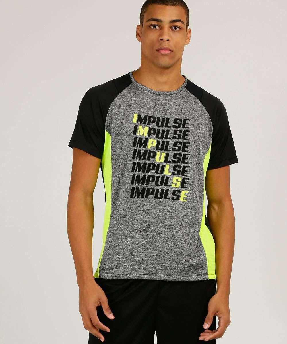 Camiseta Masculina Fitness Estampada Costa Rica