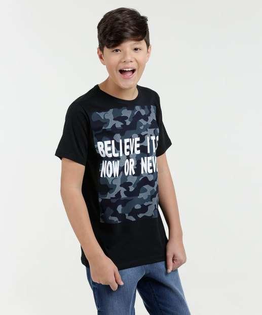 Image_Camiseta Juvenil Estampa Frontal Eagle Brazil
