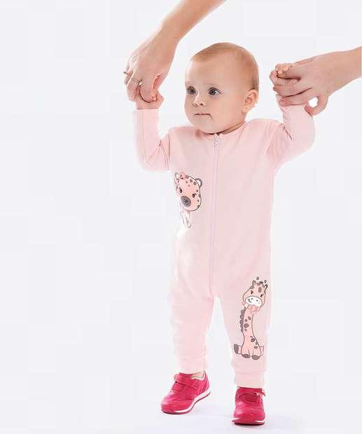 Image_Macaquinho Infantil Bebê Moletom Estampado Brandili