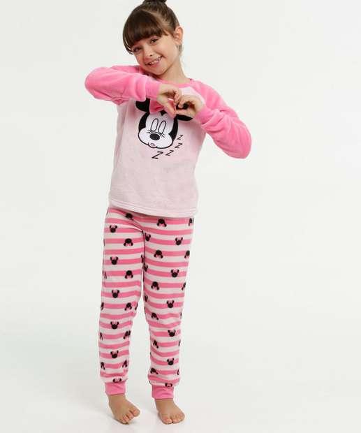 Image_Pijama Infantil Soft Minnie Manga Longa Disney