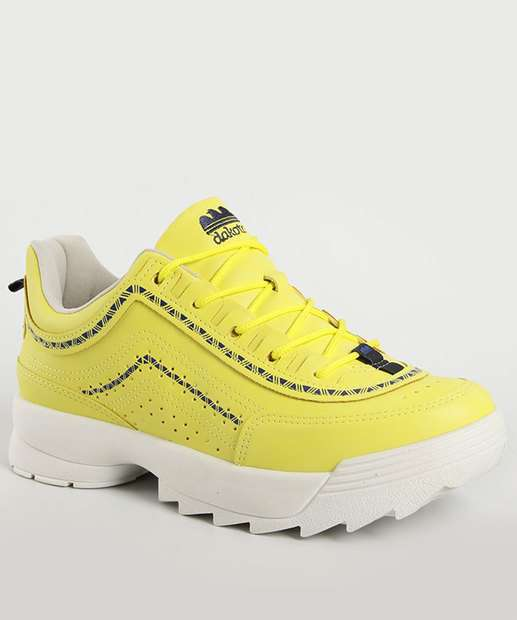 Image_Tênis Feminino Chunky Sneaker Tratorado Dakota
