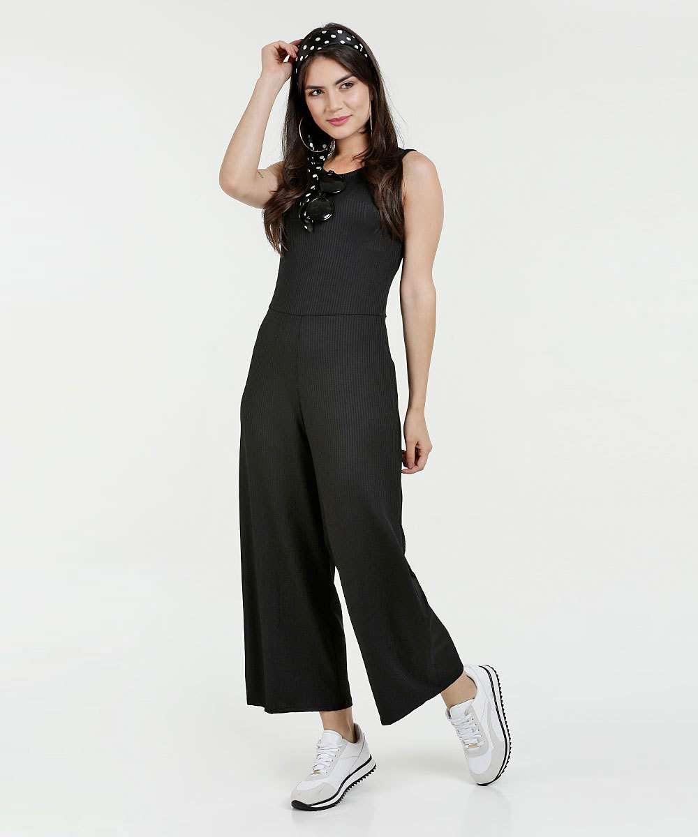 Macacão Feminino Pantalona Marisa