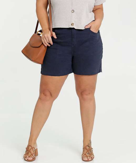 Image_Short Feminino Sarja Plus Size Marisa