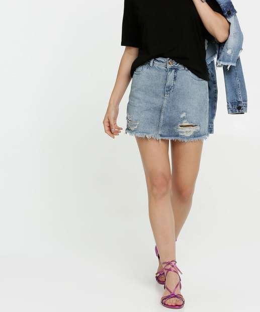 Image_Saia Feminina Destroyed Zune Jeans By Sabrina Sato
