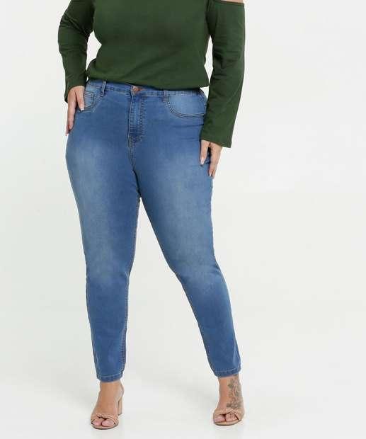 Image_Calça Jeans Stretch Skinny Feminina Plus Size Marisa