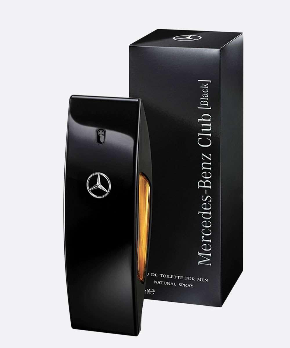 Perfume Masculino 50ml - Mercedes-Benz Club Black Eau de Toilette