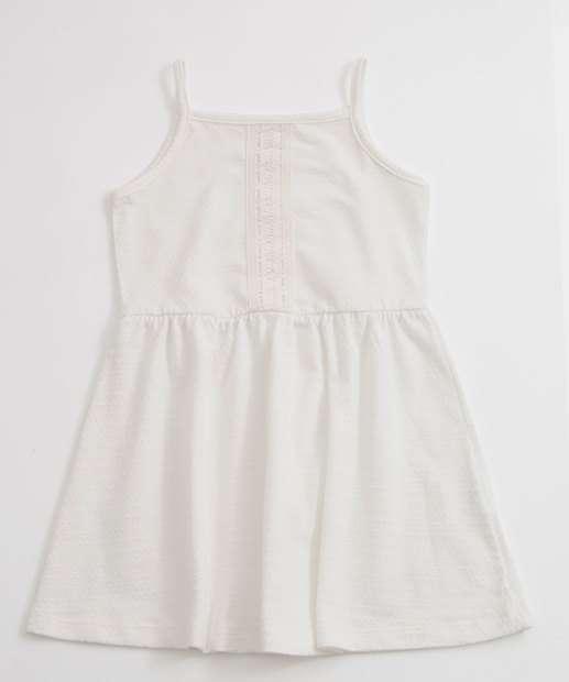 Image_Vestido Infantil Textura Alças Finas Marisa