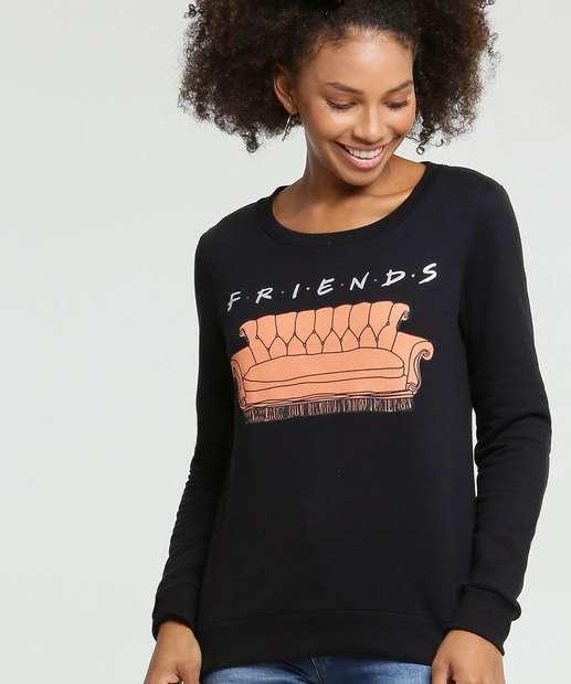Image_Blusão Feminino Moletinho Estampa Friends Warner Bros