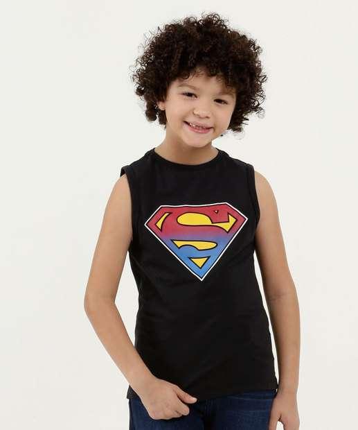 Image_Regata Infantil Estampa Super Homem Liga da Justiça