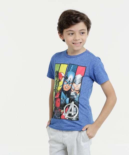 Image_Camiseta Infantil Os Vingadores Manga Curta Marvel