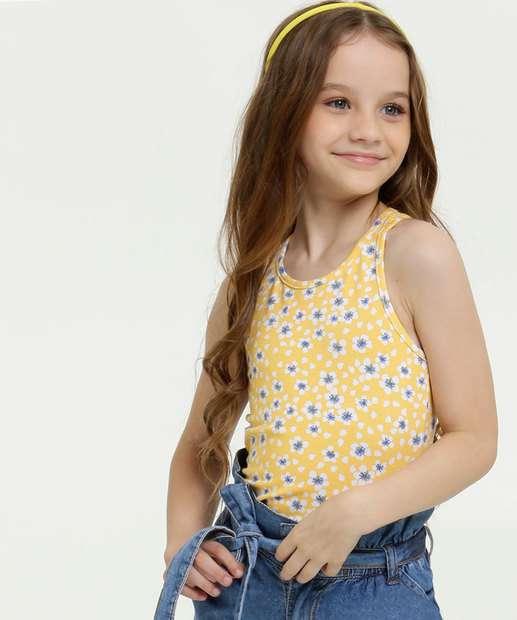Image_Regata Infantil Nadador Estampa Floral