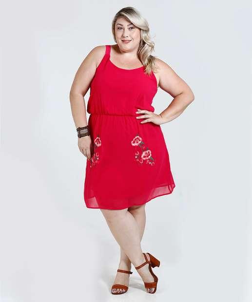 Image_Vestido Feminino Bordado Floral Plus Size Marisa