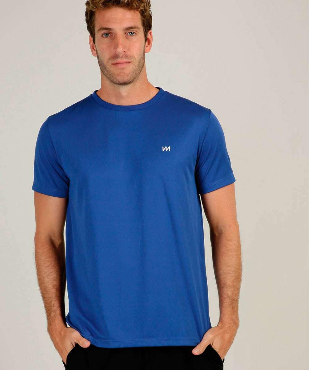Camiseta Masculina Fitness Manga Curta MR