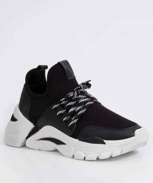 Image_Tênis Feminino Chunky Sneaker Recorte Zatz