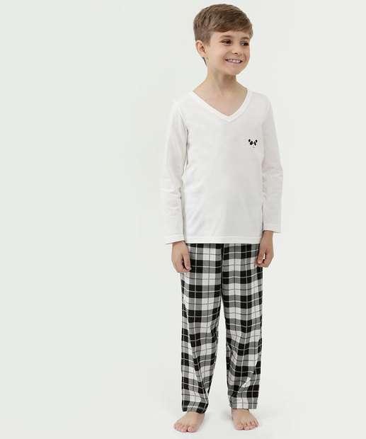 Image_Pijama Infantil Estampa Panda Manga Longa Zeus