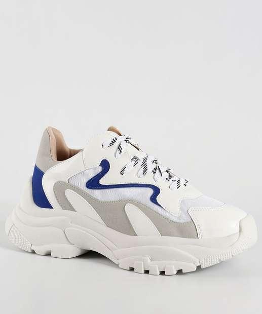 Image_Tênis Feminino Chunky Sneaker Zatz Z25291572507