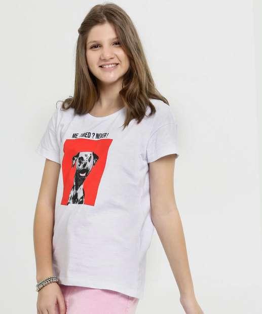 Image_Blusa Juvenil Estampa Cachorro Manga Curta Marisa