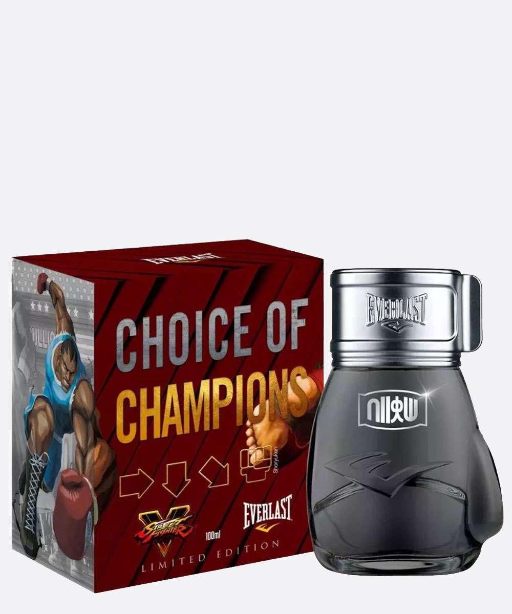 Perfume Masculino Choice Of Champions Street Fighter Shoryuken Everlast 100ml