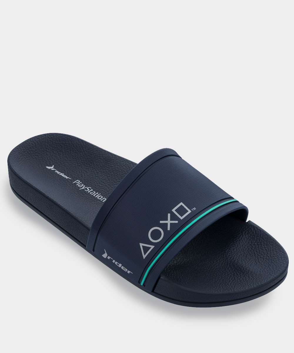 Chinelo Masculino Slide Playstation Rider
