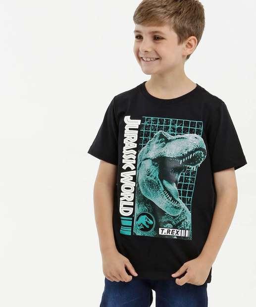 Image_Camiseta Infantil Estampa Jurassic World Manga Curta Universal