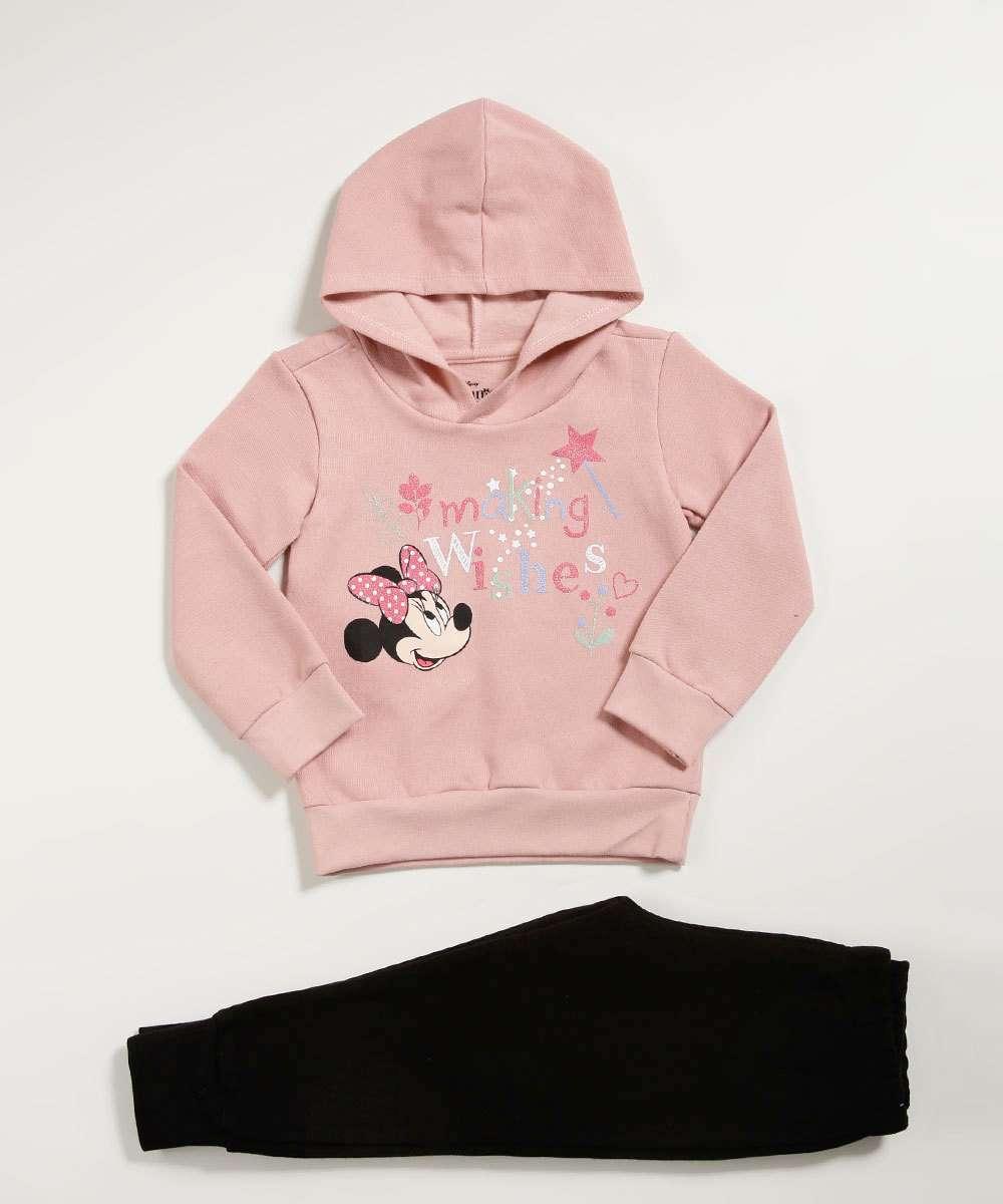 Conjunto Infantil Estampa Minnie Disney