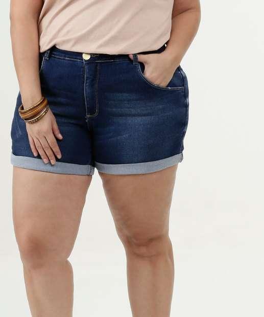 Image_Short Feminino Jeans Stretch Plus Size Razon