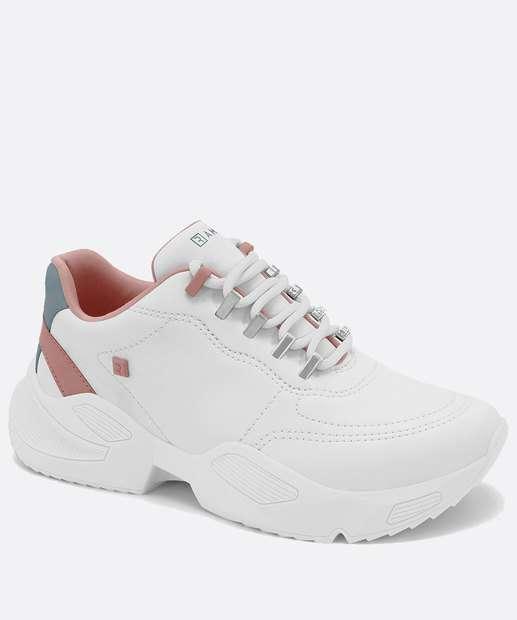 Image_Tênis Feminino Sneaker Tratorado Recorte Ramarim