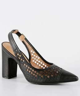 3abfee8df9 9% OFF. 13% compram · Scarpin Feminino Chanel Salto Alto Vizzano ...