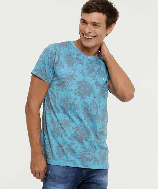 Image_Camiseta Masculina Estampa Caveira Rock e Soda