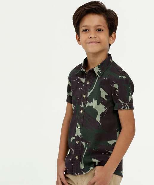 Image_Camisa Infantil Estampa Camuflada Manga Curta MR