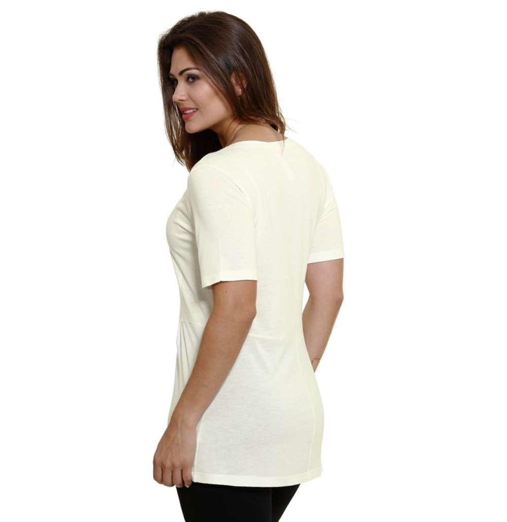 71933336c6 1  2  3  4  5. Compartilhar. adicionar aos favoritos produto favoritado.  65% OFF. Blusa feminina manga curta com pregas Marisa