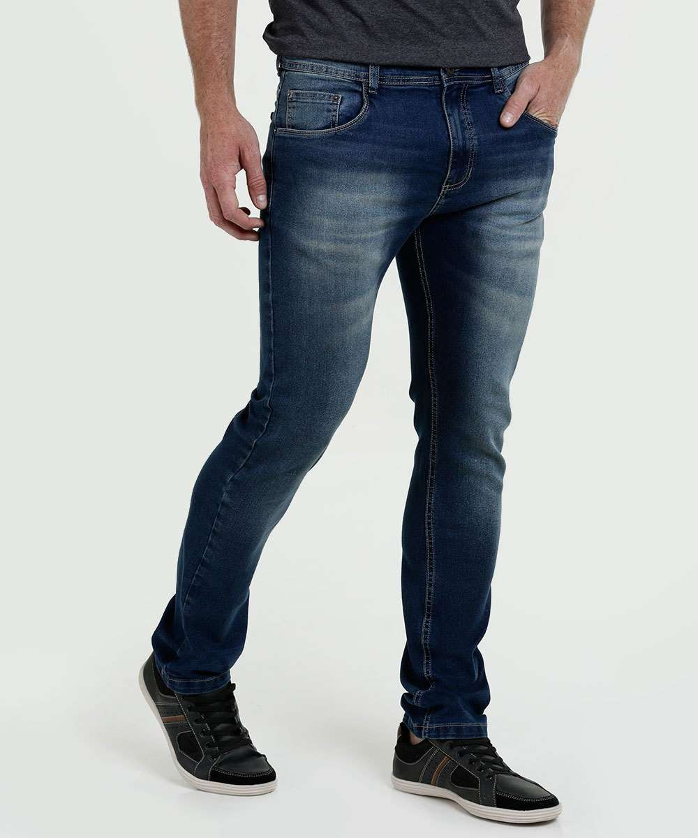 Calça Masculina Jeans Stretch MR