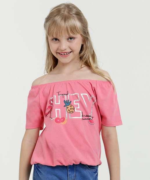 Image_Blusa Infantil Ombro a Ombro Manga Curta Marisa