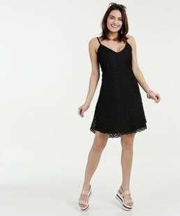 Vestido Feminino Renda Sem Manga Marisa