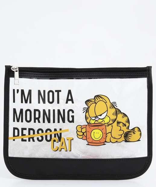 Image_Necessaire Feminina Estampada Garfield