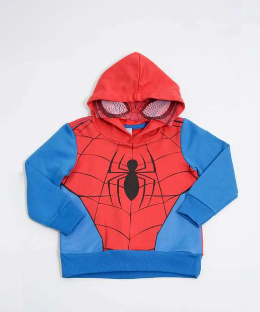Image_Blusão Infantil Moletom Homem Aranha Marvel