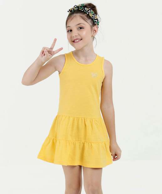 Image_Vestido Infantil Sem Manga Marisa
