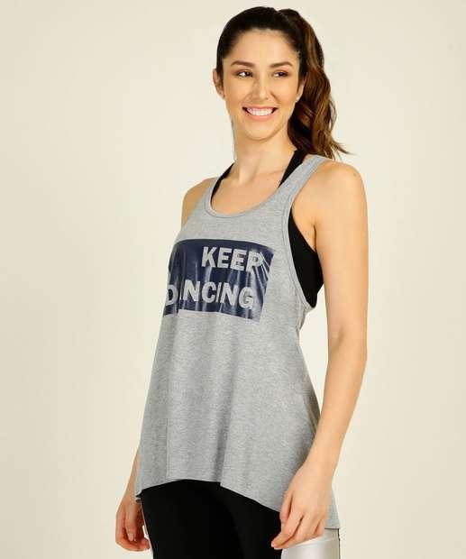 Image_Regata Feminina Fitness Assimétrica Estampada Marisa