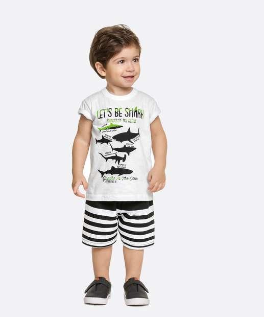Image_Conjunto Infantil Estampa Tubarão Manga Curta
