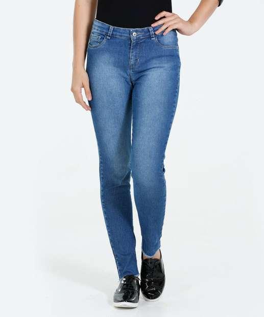 Image_Calça Feminina Cigarrete Jeans Stretch Marisa