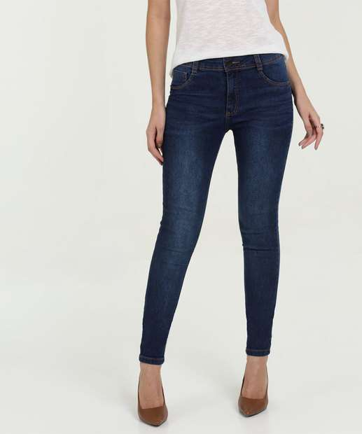 8306d96f5 Calça Feminina Jeans Skinny Stretch Biotipo