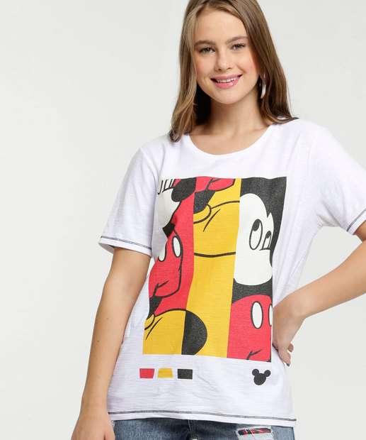 Image_Blusa Feminina Estampa Mickey Brilho Disney
